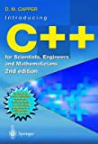 C++ for Scientists, Engineers and Mathematicians - book cover picture