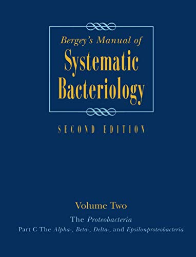 BERGEY'S MANUAL OF SYSTEMATIC BACTERLOGY 2ED VOL 2 PART C