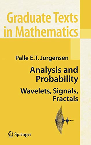 PDF Analysis and Probability Wavelets Signals Fractals Graduate Texts in Mathematics
