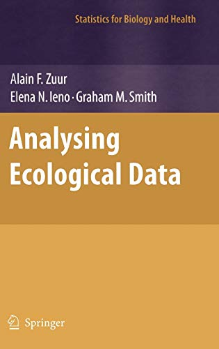 Analysing Ecological Data (Statistics for Biology and Health)