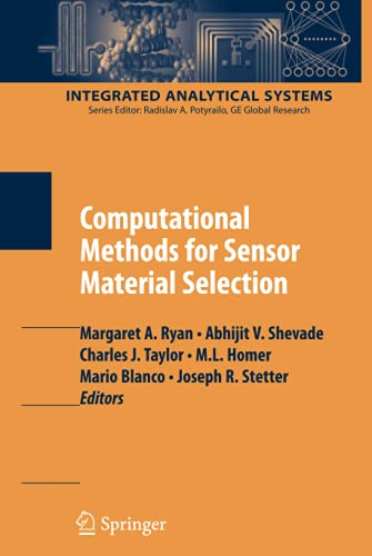 PDF Computational Methods for Sensor Material Selection Integrated Analytical Systems