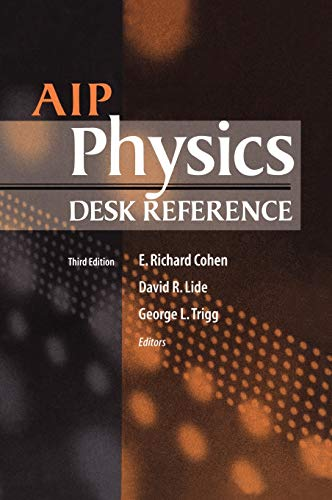 AIP physics desk reference.