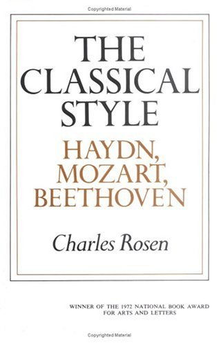 The Classical Style: Haydn, Mozart, Beethoven (The Norton library, N653)