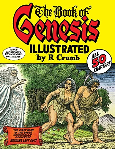 The Book of Genesis Illustrated by R. Crumb cover