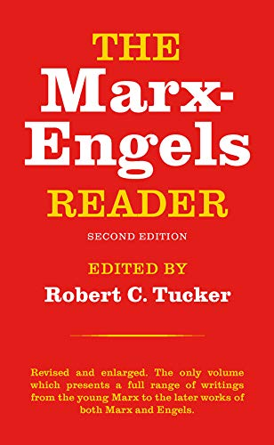 The Marx-Engels Reader Book Cover Picture