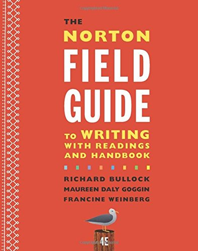 PDF The Norton Field Guide to Writing with Readings and Handbook Fourth Edition