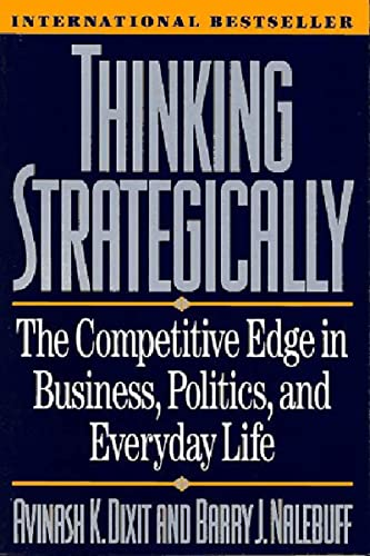 Thinking Strategically Book Cover Picture