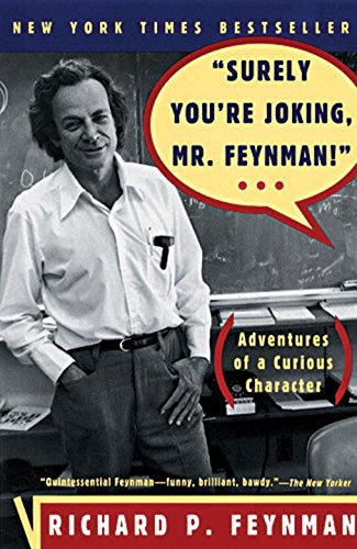 Surely You're Joking, Mr. Feynman! Book Cover Picture