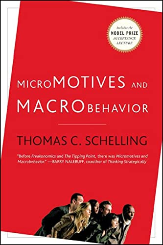 Micromotives and Macrobehavior Book Cover Picture