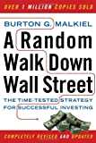 Book Cover: A Random Walk Down Wall Street by Burton Malkiel Ph.D.