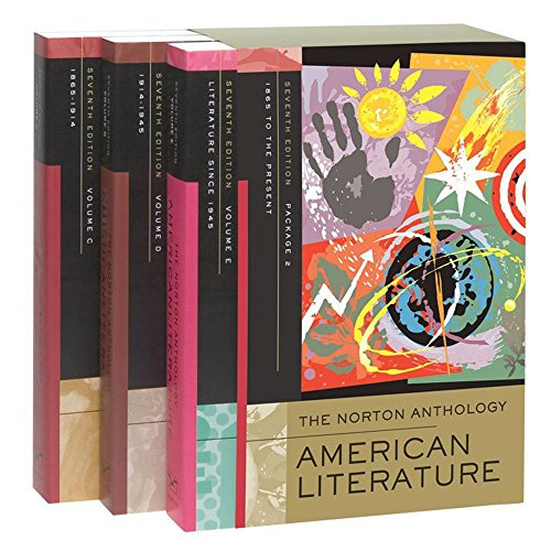 The Norton Anthology of American Literature, Package 2: Volumes C, D, and E