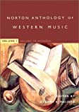 The Norton Anthology of Western Music: Ancient to Baroque