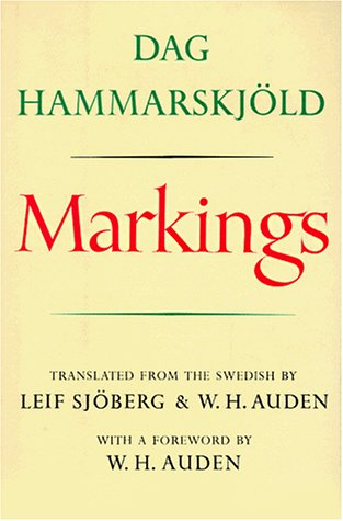 Markings, Dag Hammarskjold