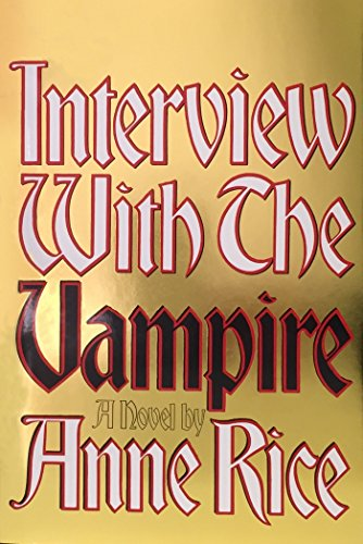 Interview with a Vampire Book CoverInterview With A Vampire Book Cover