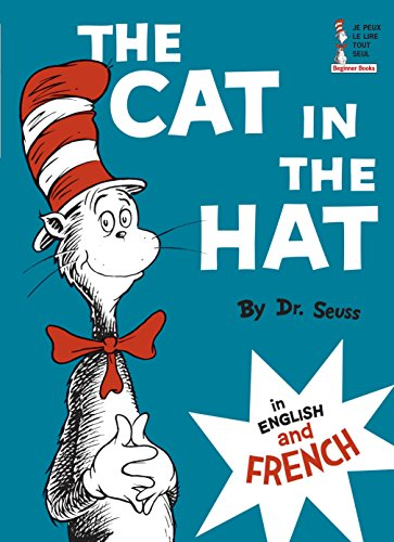 Cat in the Hat in English and French (Le Chat Au Chapeau)