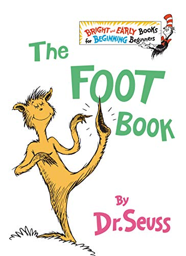 The Foot Book (The Bright and Early Books for Beginning Beginners), Dr. Seuss