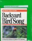 Backyard Bird Song (Peterson Field Guide Series) by Richard K. Walton, Robert W. Lawson