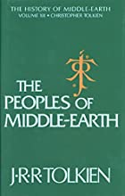 cover of Peoples of Middle-earth