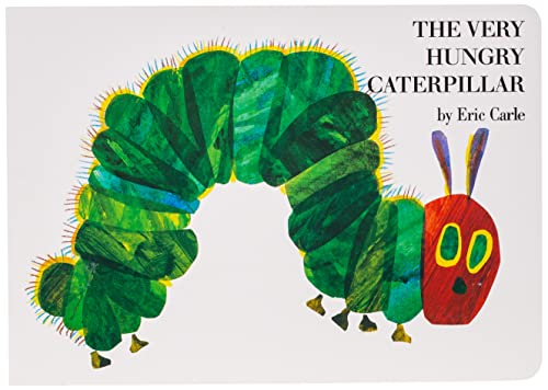 The Very Hungry Caterpillar Board Book by Eric Carle