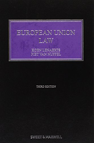 Lenaerts Constitutional Law of the Europ