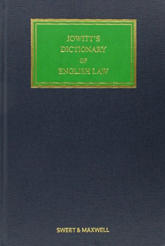 canadian law dictionary 4th ed