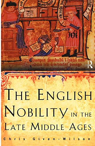 PDF The English Nobility in the Late Middle Ages The Fourteenth Century Political Community