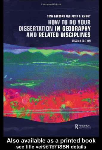 how to write a geography dissertation Have no clue what kind of problem you can explore in your human geography list of interesting dissertation titles in how easy it will be to write about.