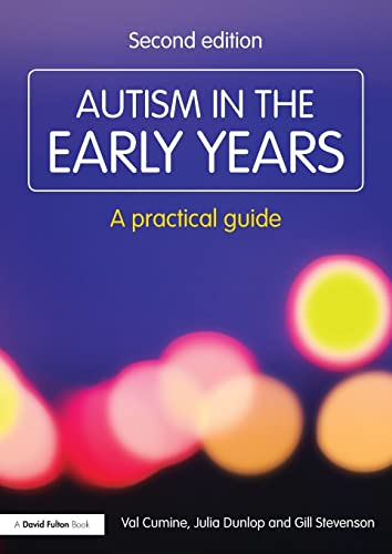 PDF Autism in the Early Years A Practical Guide Resource Materials for Teachers