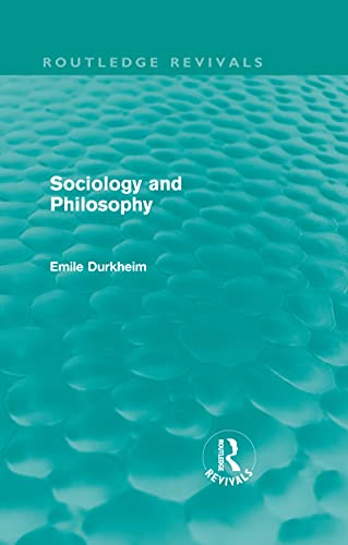 SOCIOLOGY AND PHILOSOPHY
