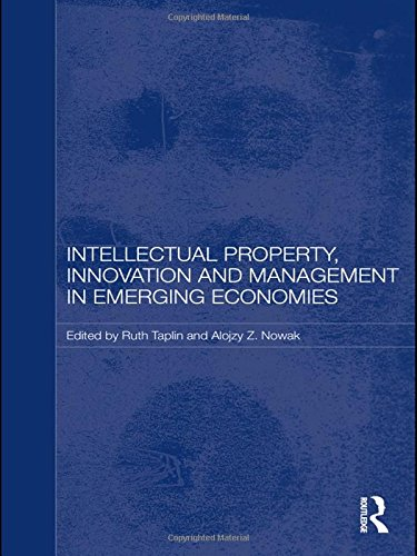 PDF Intellectual Property Innovation and Management in Emerging Economies