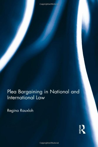 the process of plea bargaining in canadas justice system Proposal for reform of the plea bargaining process, 119 u pa l rev 439, 441-42  of due process and substantive justice,  ment rights than the plea .