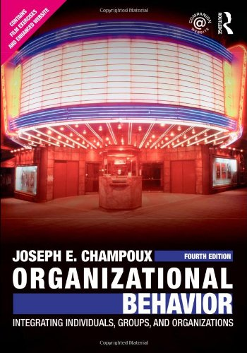 PDF Organizational Behavior Integrating Individuals