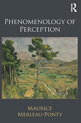 Phenomenology of Perception Book Cover Picture