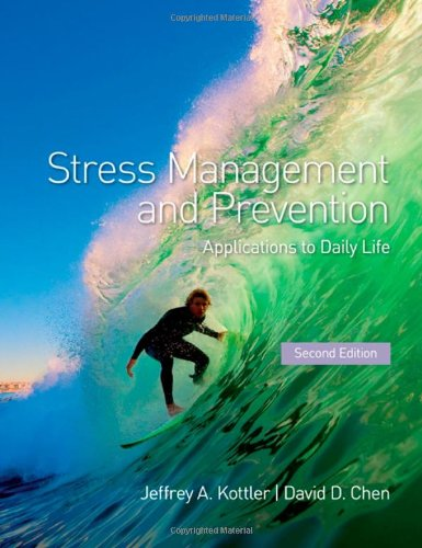 PDF Stress Management and Prevention Applications to Daily Life 2 edition