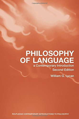Philosophy of Language Book Cover Picture