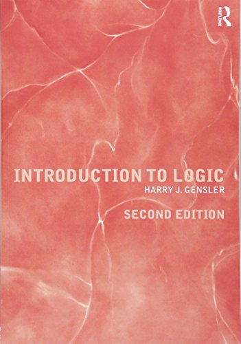 Introduction to Logic Book Cover Picture