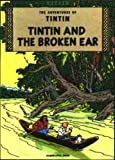 The Broken Ear (Adventures of Tintin) - book cover picture