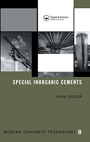 Pdf Special Inorganic Cements Modern Concrete Technology Free