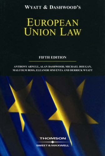 European Union Law 5th Edition