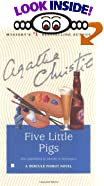 Five Little Pigs by  Agatha Christie (Mass Market Paperback - February 1993)