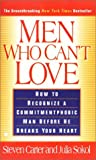 Men Who Can't Love - book cover picture