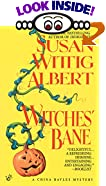 Witches' Bane by  Susan Wittig Albert (Mass Market Paperback - September 1994)