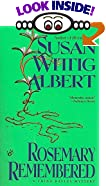 Rosemary Remembered by  Susan Wittig Albert (Mass Market Paperback - August 1996)