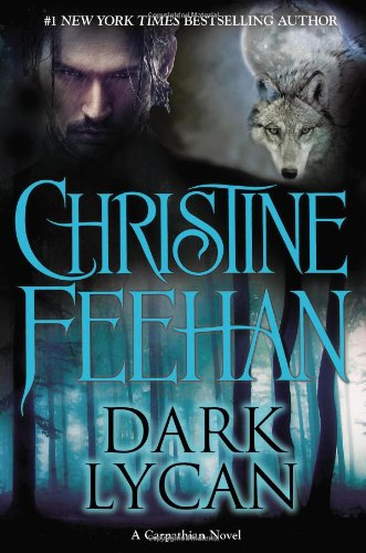Book Dark Lycan - a wolf, a full moon, and a close up of a dude with long hair glaring in the rain. So basically a paranormal romance cover.