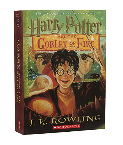 book cover of Harry Potter and the Goblet of Fire
