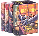 Harry Potter Hardcover Boxed Set (Books 1-4) - book cover picture