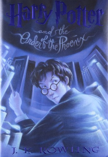 Harry Potter and the Order of the Phoenix, J.K. Rowling