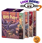 Harry Potter Paperback Boxed Set (Books 1-4) by  J. K. Rowling, Mary GrandPre (Illustrator) (Paperback - September 2002)