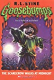 The Scarecrow Walks at Midnight  (Goosebumps Series) - book cover picture