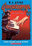 Piano Lessons Can Be Murder  (Goosebumps Series) - book cover picture